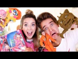 Reacting To Our 90's Childhood Toys  Zoella