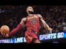 LeBron James Unstoppable 18 Straight 4th QTR Points! Nets vs Cavs 2017-18 Season