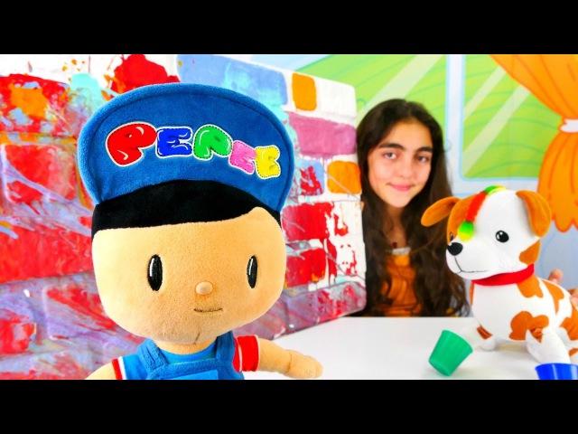 Öğretmen Oyunu Peppe Öğrenci oldu! Eğitici çocuk videoları. Okul öncesi oyunlar ödevoyunları