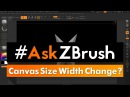 "AskZBrush: ""How do I restore the canvas to its full width after a divider closes?"""