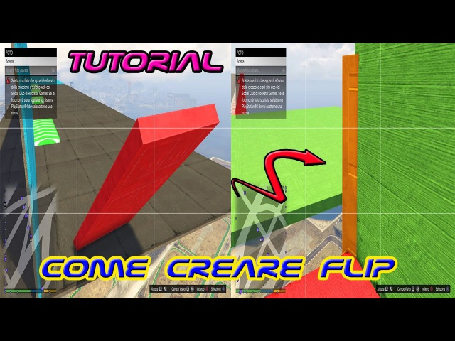 TUTORIAL GTA 5 CREATOR Come creare FLIP SUPER GUIDED Stunt