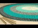 Alfombra XL Tejida en Crochet A Trapillo