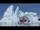 Massive Icebergs Collapsing and Danger Glacier Waves