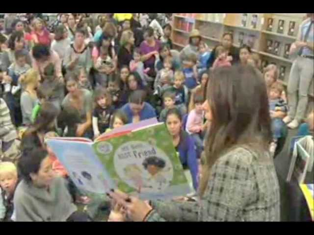 Kate Beckinsale promoting Nestle's The Joy of Reading event