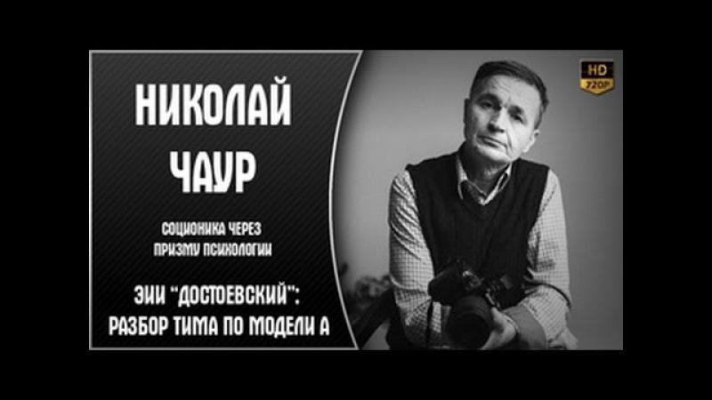 "ЭИИ ""Достоевский""׃ разбор ТИМа по модели А | Николай Чаур"