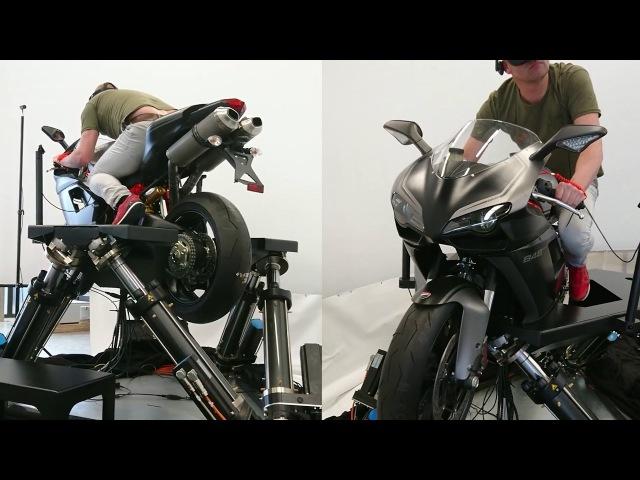 Мотоциклетный симулятор - Cruden B306-HMD
