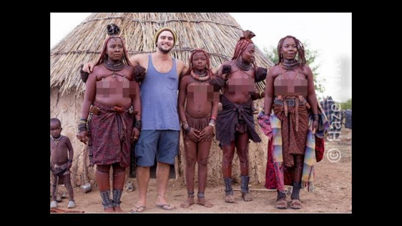 Намибия 1. 18 Ищем дикие племена Африки. Реальная жизнь племени химба.