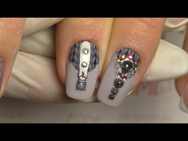 Слайдер-дизайн на гель-лак. Дизайн ногтей на клиенте!