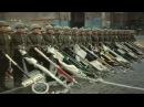 Парад Победы 1945.Флаги нацистской Германии повержены