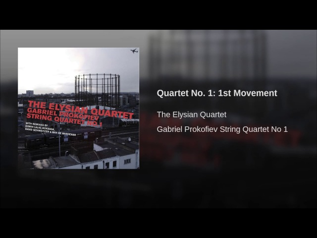 Quartet No. 1 1st Movement