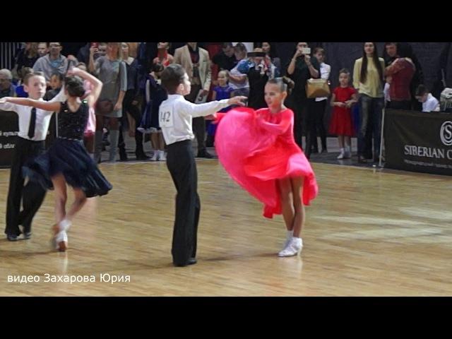 Ча-ча-ча в финале танцуют Захаров Степан и Крапивина Арина пара №142