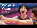Top 15 Fantastic Volleyball Spikes by Xinyue Yuan 新悦元 | Chinese Volleyball