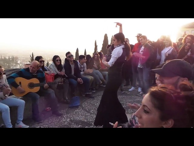 Granada Flamenco Street Show