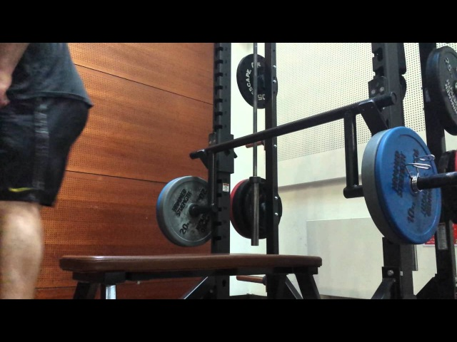 Cambered Bar Benchpress