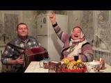Зоя и Валера С Ванечкой на саночках !!!