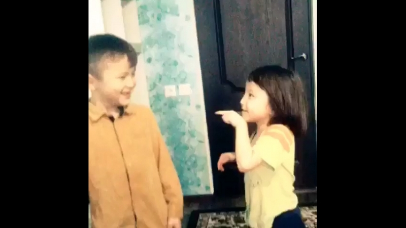 Dubsmash (my little brother and little sister)❤️