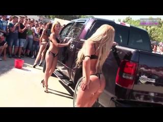Sexy car wash 7 - sexy girls car wash | mia malkova, alexis texas, nicole aniston, asa akira 2017