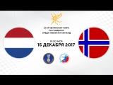 Гандбол. Нидерланды - Норвегия. 1/2 финала. Чемпионат мира 2017. Женщины
