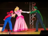 Sword Art OFFline team - Super Mario Bros. - Pink Power! - AnimeCon (Hague, NL) 2017