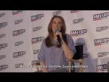 Панель Кэтрин на конвенции «Fan Expo Dallas» [RUS SUB]