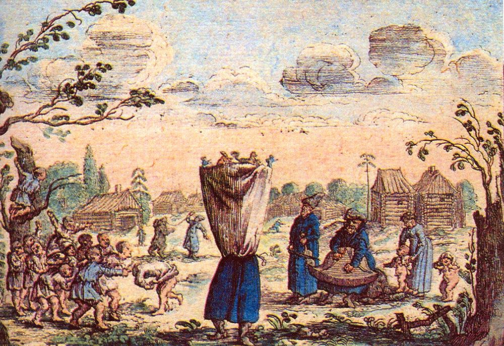 Скоморохи Древнего Новгорода
