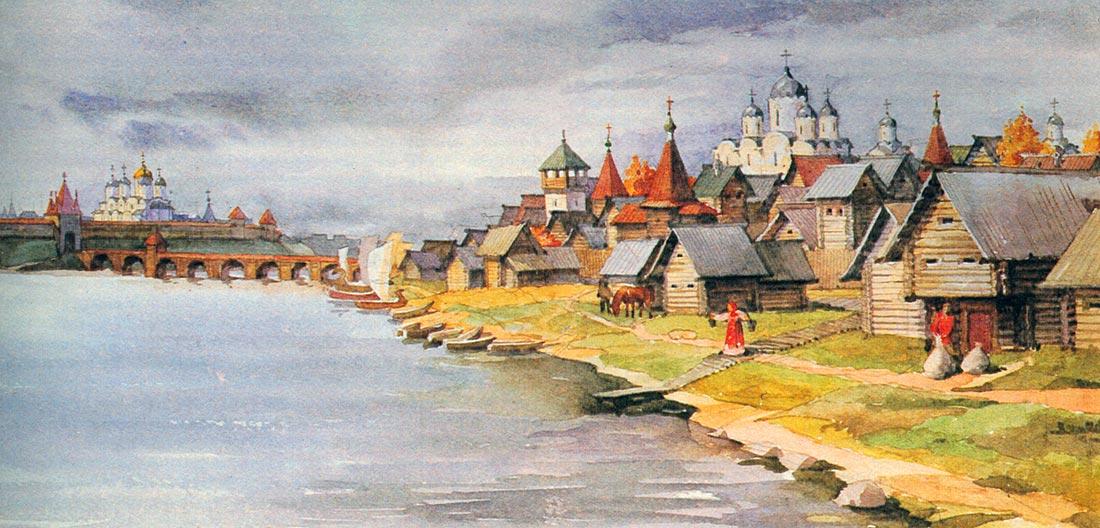 """А.В. Исаченко. """"Если бы в конце XV века Новгород одержал победу над Москвой"""""""