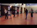"""Клуб спортивного бального танца """"БАЛАНС"""" группа взрослые (хобби) начинающие ЧаЧа"""