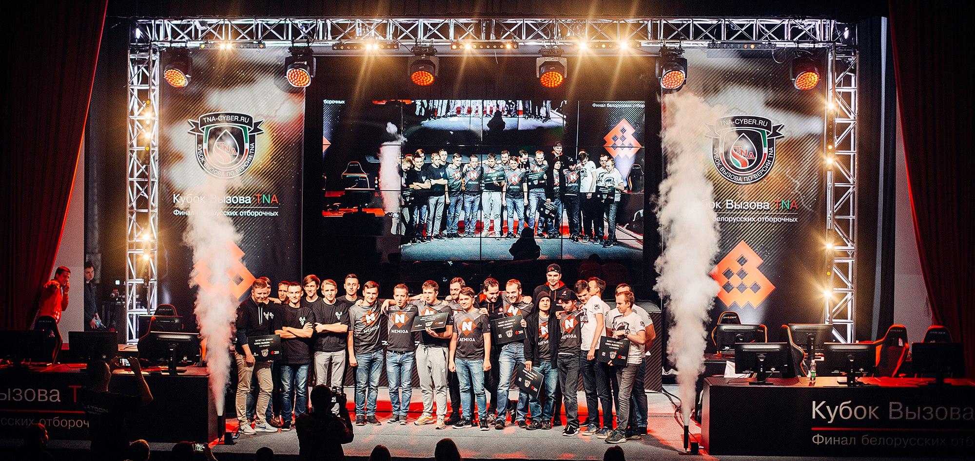 Закончились белорусские отборочные «Кубка Вызова TNA»