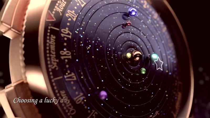 Van Cleef Arpels Complication Poetique Midnight Planetarium Watch - aBlogtoWatch