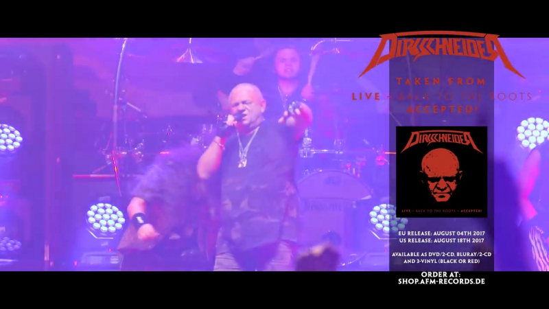 DIRKSCHNEIDER - Restless And Wild (Live in Brno) -- official clip-- AFM Records