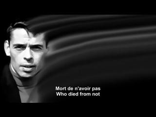 Ne me quitte pas - Jacques Brel - French and English subtitles.mp4.mp4