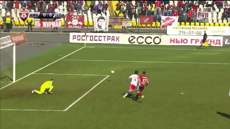 28-й тур обзор матча Амкар - СПАРТАК 0:1 (13.05.2017)