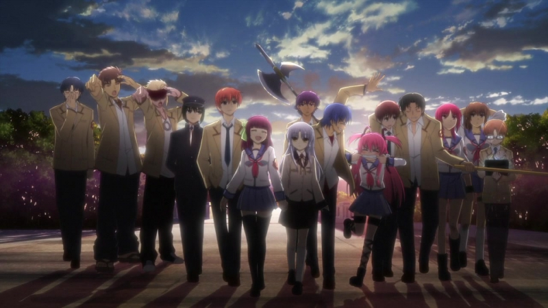 Ангельские Ритмы! Эндинг 2 __ Angel Beats! Ending 2