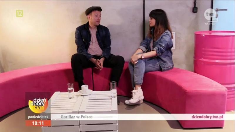 Gorillaz Interview - Dobry TVN (Polish TV) 2017