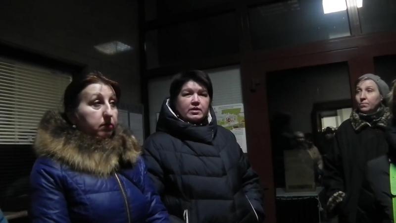 Житёли Трёхгорки в Пресненской Управе - 7 декабря 2017