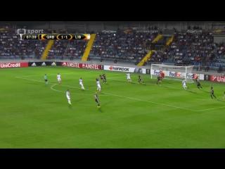 372 EL-2016/2017 Qarabağ FK - Slovan Liberec 2:2 (15.09.2016) HL