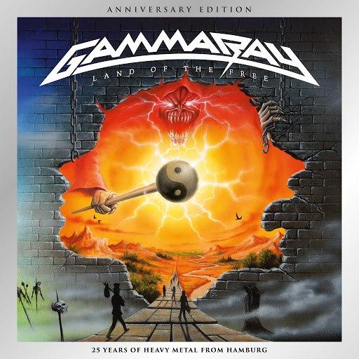 Gamma Ray альбом Land of the Free (Anniversary Edition) [Remastered 2017]
