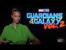 «Стражи Галактики: Часть 2»: Интервью Зои Салдана «BackstageOL»