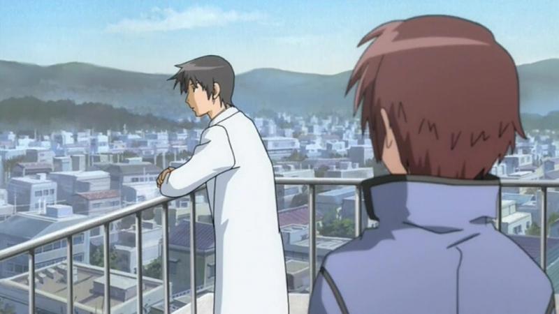 У небі сходить місяць / Looking up at the Half-Moon / Hanbun no Tsuki ga Noboru Sora [02] (2006) [Gwean Di-Vers]