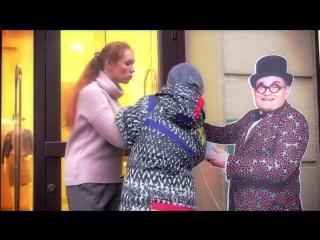 Александр Васильев украден сумасшедшей женщиной из магазина на Невском (приколы топ юмор)