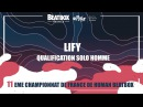 LIFY Qualification Solo Homme 2017 French Beatbox Championships