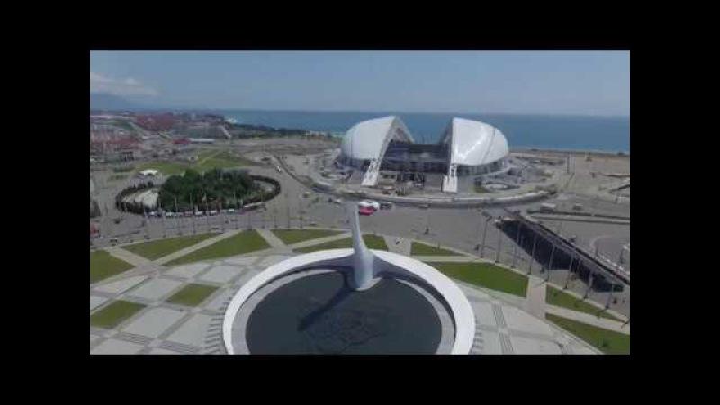 Гордость Сочи! Олимпийский парк днем и ночью