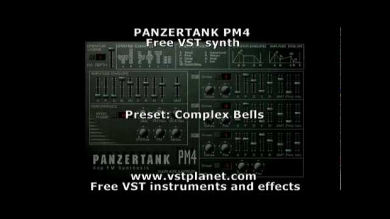 Panzertank PM4 Free VST synth