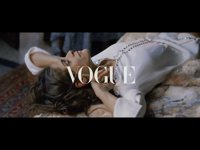THE PAINTING with ELISA SEDNAOUI directed by BOLDIZSAR CR for VOGUE ITALIA