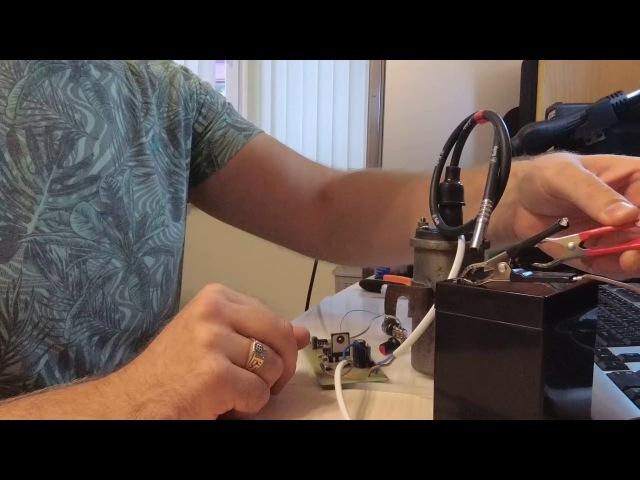 Генератор для электростатического копчения