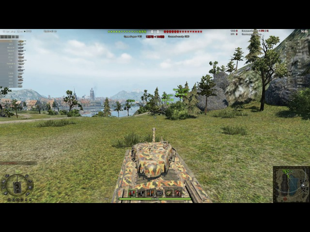 Невероятный бой на танке Т32 - world of tanks - Incredible battle on the tank T32