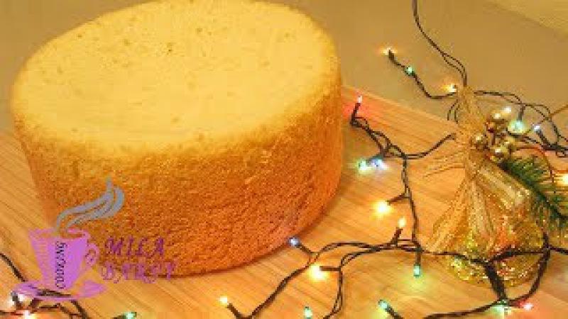 Воздушный бисквит в кастрюле БЕЗ духовки 🎄 Новогодний рецепт 🎄 air biscuit Without oven