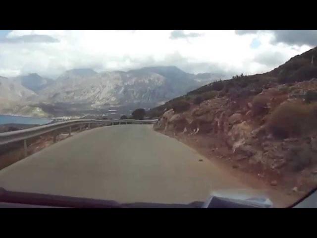 Экстремальные дороги Крита)