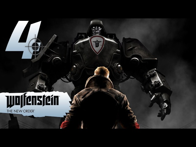 Прохождение Wolfenstein: The New Order - 4 СПАЯЛ ГЛАЙДЕР СЕБЕ НА ГОЛОВУ