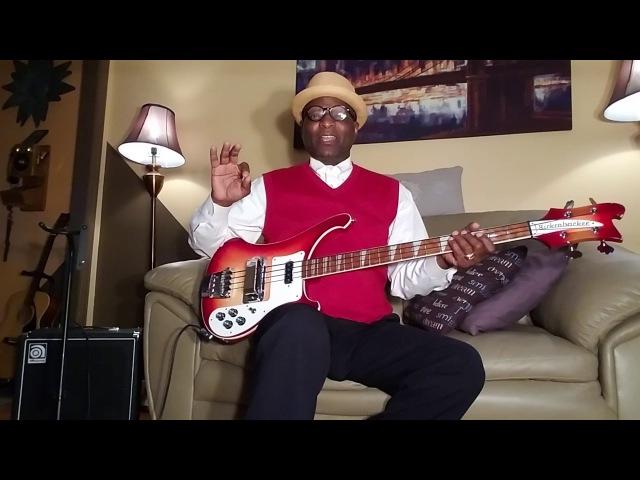 Rickenbacker FUNKY THUMPING Bass demo